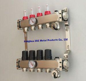 China Stainless Steel Radiant Water Heating Manifolds For