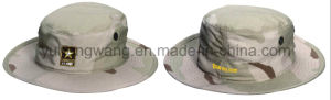 Cotton Camouflage Baseball Bucket Cap/Hat, Floppy Hat