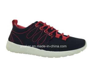 2015 Cheap Style Women Running Shoes with PVC Outsole (X177-L)