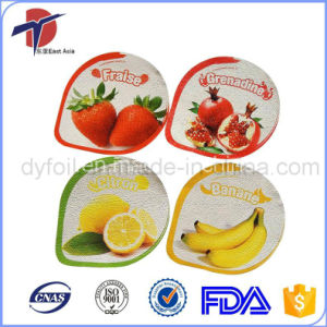 Embossed Aluminium Foil Lid For Dairy Packaging pictures & photos