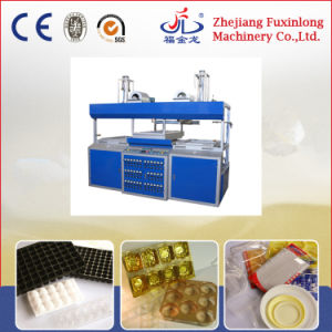 Double Station Semi-Automatic Vacuum Forming Machine pictures & photos