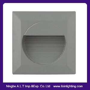 Round & Square LED Step Light, LED Floor Light, LED Recessed Wall Light, pictures & photos