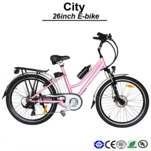 48V500W 26inch Electric Road Bike Electric Bicycle E-Bike (TDF03Z) pictures & photos