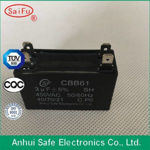 ceiling Fan Start Capacitor Cbb61 AC Motor Capacitor pictures & photos