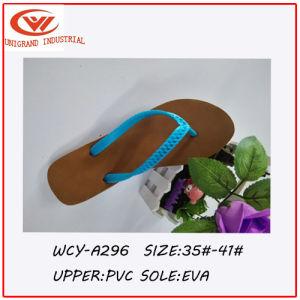 f7bdb15521831e China 2016 Summer Imitative Knitted PVC Ladies′ Flip Flops - China ...
