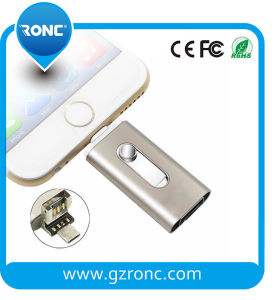 32GB OTG USB Flash Drive for iPhone/Android/PC pictures & photos
