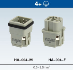 Hdc-He-004-02D Wire Connector pictures & photos