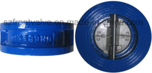 Cast Iron/Ductile Iron Butterfly Check Valve-Wafer Check Valve pictures & photos
