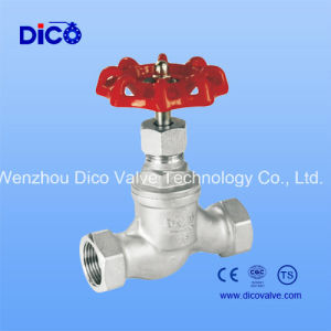 Stainless Steel Globe Ball Valve Thread End pictures & photos