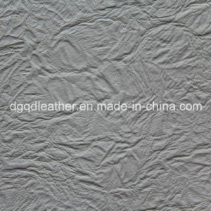 Fire Resistant BS5852-1 Artificial Leather Qdl-50203 pictures & photos