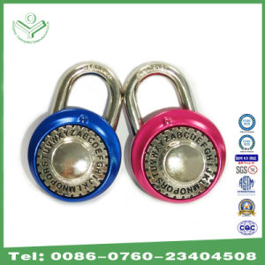 48mm Aluminum Anodizing Word- Open Combination Lock (1601)