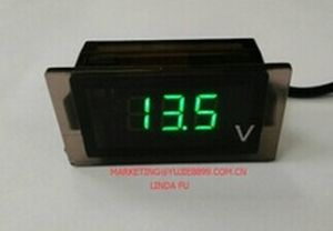 New Green Digital Voltmeter pictures & photos
