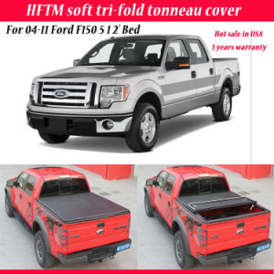 China Folding Truck Back Cover Soft Tonneau Cover For 04 11 Ford