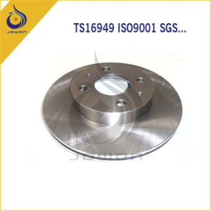 CNC Machining Ts16949 Certificated Auto Spare Part Brake Disc pictures & photos