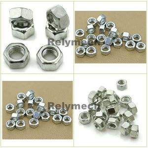 Inch/American Zinc Plated Carbon Steel Hex Nut pictures & photos