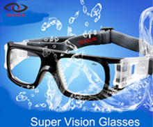 Wholesale Custom Logo Fashion Sports Basketball Goggles with CE ANSI FDA Certificate pictures & photos