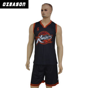 China Custom Design Sublimated Basketball Jersey Wear Men′s Basketball Uniform pictures & photos