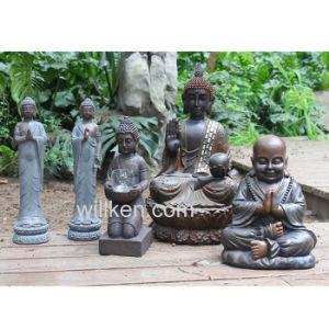 Resin Alfresco Decoration Seated Buddha Garden Statue