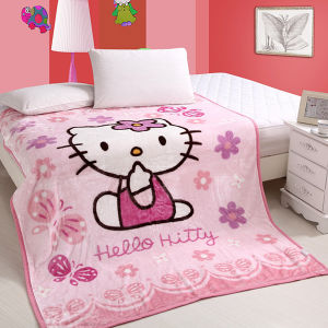 Cute Coral Fleece Baby Blanket