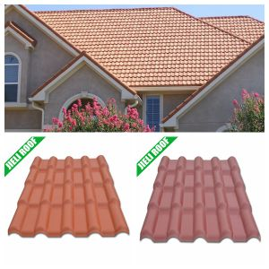 Royal Style Plastic Construction Material Synthetic Resin Roof Tiles pictures & photos