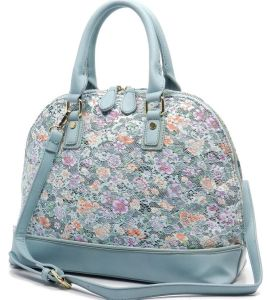 Fashion Ladies Handbags Beautiful Floral Handbags Six Colors Leather Handbags pictures & photos