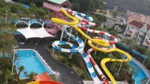 Big Spiral Water Slide, Customized Fiberglass Water Park Equipment pictures & photos