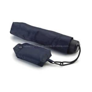 Foldable Manual Umbrella with Pouch and Foldable Shopping Bag pictures & photos