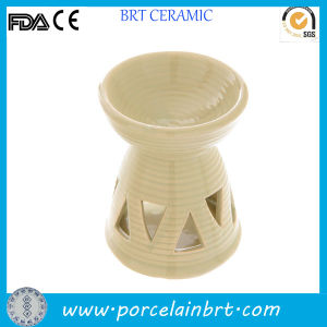 Modern Hollowed-out Ceramic Fragrance Oil Burner pictures & photos