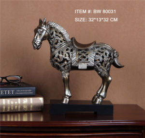 Polyresin Classic Chinese Art Horse