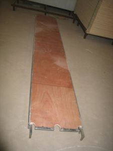 China Aluminum Wood Plank with Ce