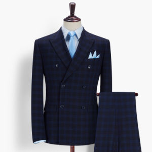Formal Suit for Men Italian Wool Tailor Make Suit pictures & photos