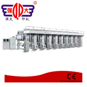 Automatic High Speed Plastic Film Rotogravure Printing Press 120 M/Min pictures & photos