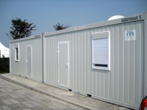 Single Story Container House Temporary Living for Labor Camp Supplier pictures & photos