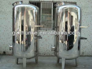 Industrial Stainless Steel Mechanical Filter Sand /Active Carbon Filter pictures & photos