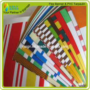 PVC Laminated Strip Tarpaulin for Tent pictures & photos