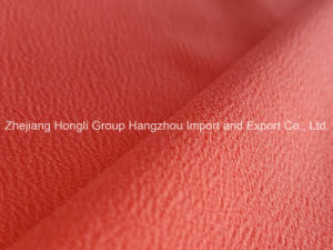 2016 New High Twist Polyester Crepe Fabric pictures & photos