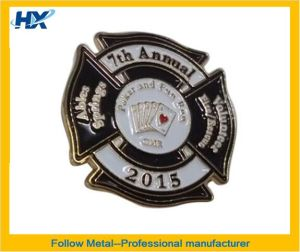 Badge or Pin with Soft Enamel Process 17