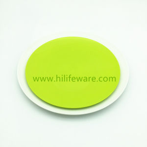 100% Biodegradable PLA Material Round Dinner Plates Non Plastic Eco Friendly Plate in Multi Color  sc 1 st  Made-in-China.com & China 100% Biodegradable PLA Material Round Dinner Plates Non ...