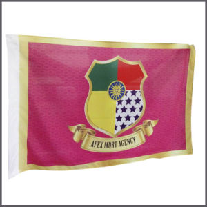 High Quality Polyester Flag with Digital Printing pictures & photos