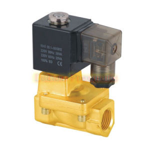 Yuken Type PU225 Series Guide Brass Solenoid Valve 2/2 Way