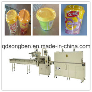 Jelly with Tray Shrink Packing Machine pictures & photos