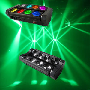 New White LED Spider Beam Scanner Effect Stage Party Light pictures & photos