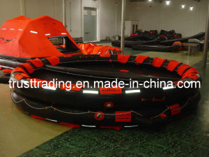 Marine Ship Khk Type Open Reversible Inflatable Life Rafts pictures & photos