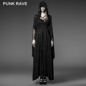 Wholesale Fashion Gothic Punk Fitted Coats (Y-510)