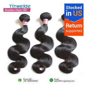 Stocked in USA Free Shipping Wholesale Virgin Weave Quality Grade 7A Brazilian Hair