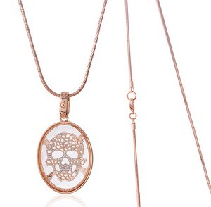 Fashion Long Chain Pendant Necklace (XJW12836) pictures & photos