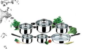 Stainles Steel Multifunctional Cookware Set (JQB-5518)