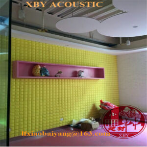 Acoustic Foam Panel Decorative Wall Cladding Sound Absorption Decoration Ceiling Board Wall Panel pictures & photos