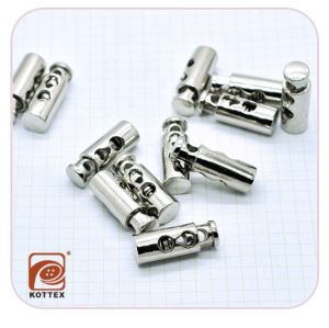 Metal Alloy Plating Stopper/Spring Fastener with High Quality From Manufactory