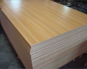 Decoration Grade 18mm Melamine Plywood pictures & photos